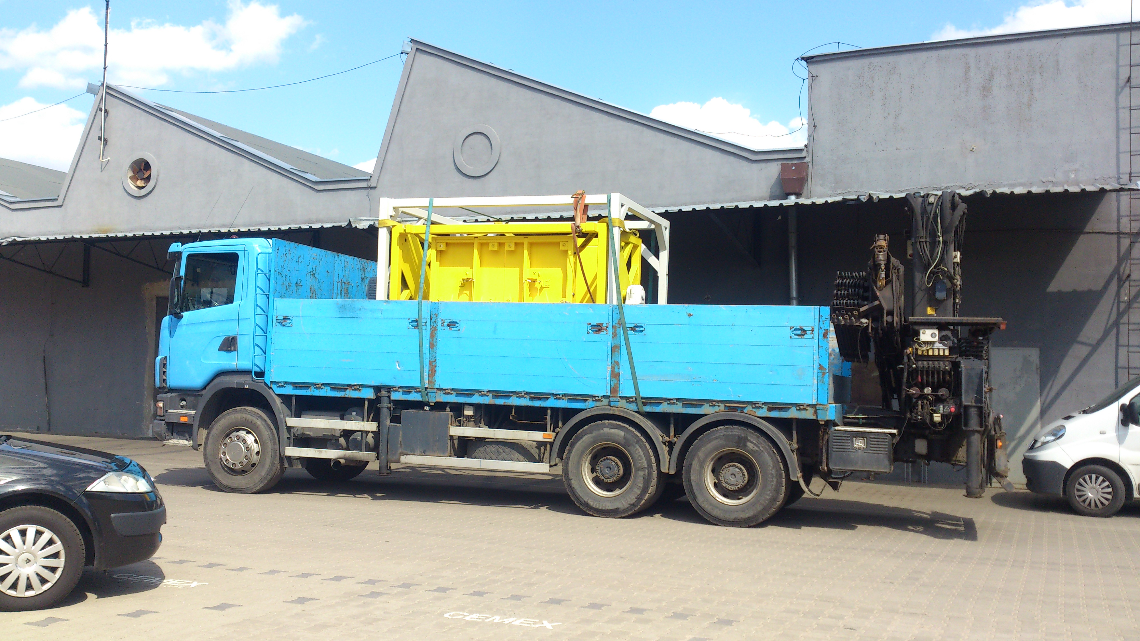 Przemieszczanie maszyn Łódź woj łódzkie