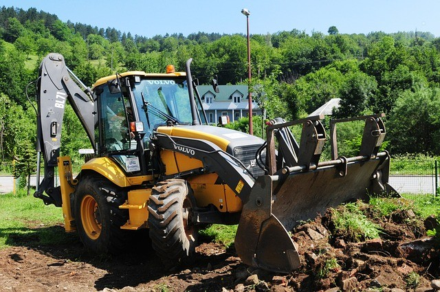 Przygotowanie terenu pod kostkę brukową Pabianice
